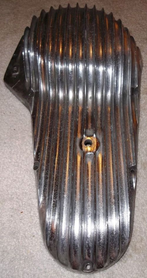 small resolution of  mpd finned primary cover 65 88 harley panhead shov