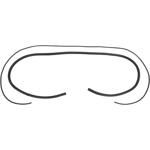 1955 2nd- 1959 Chevrolet GMC Truck Large Back Glass Gasket