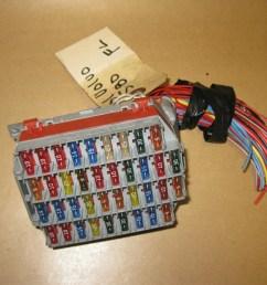 99 03 volvo s80 oem front l indash fuse box w fuses 91 62 [ 1600 x 1200 Pixel ]