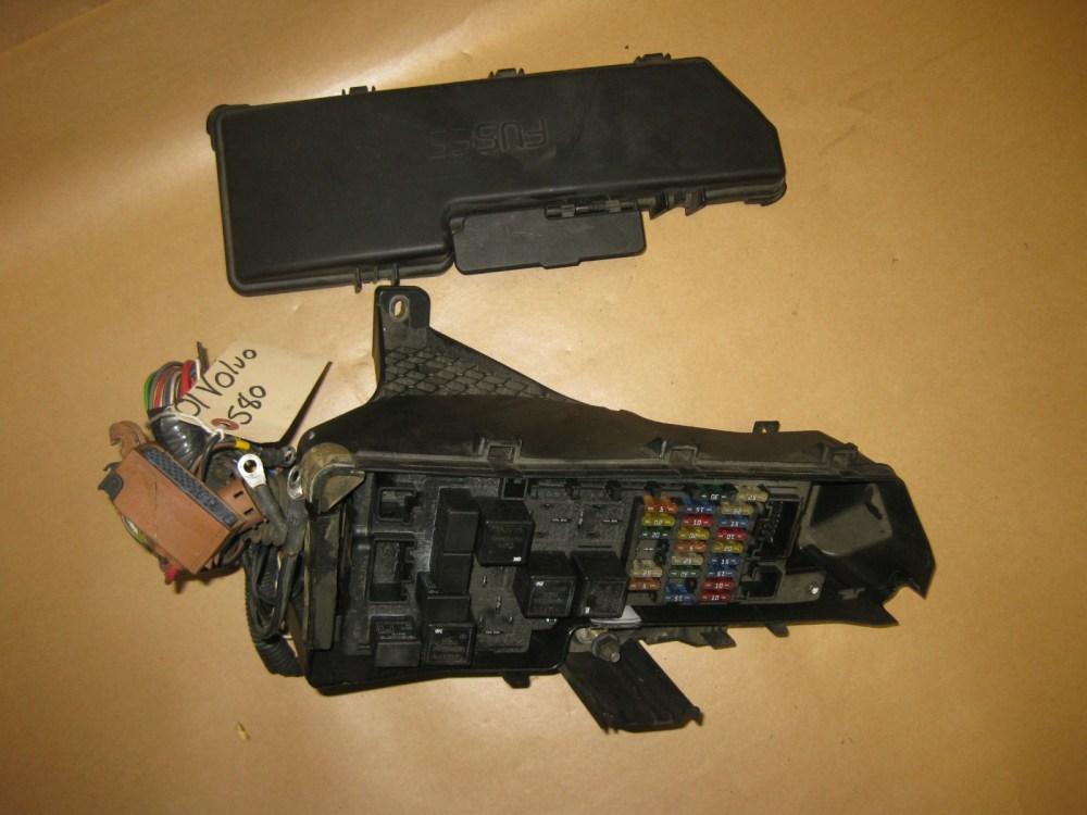 medium resolution of 99 00 01 02 03 volvo s80 oem under hood fuse box w fuses part