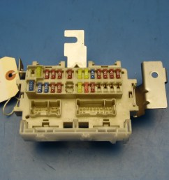this is a in dash fuse box with fuses relays removed from a 2010 nissan sentra sedan please read below  [ 1600 x 1200 Pixel ]