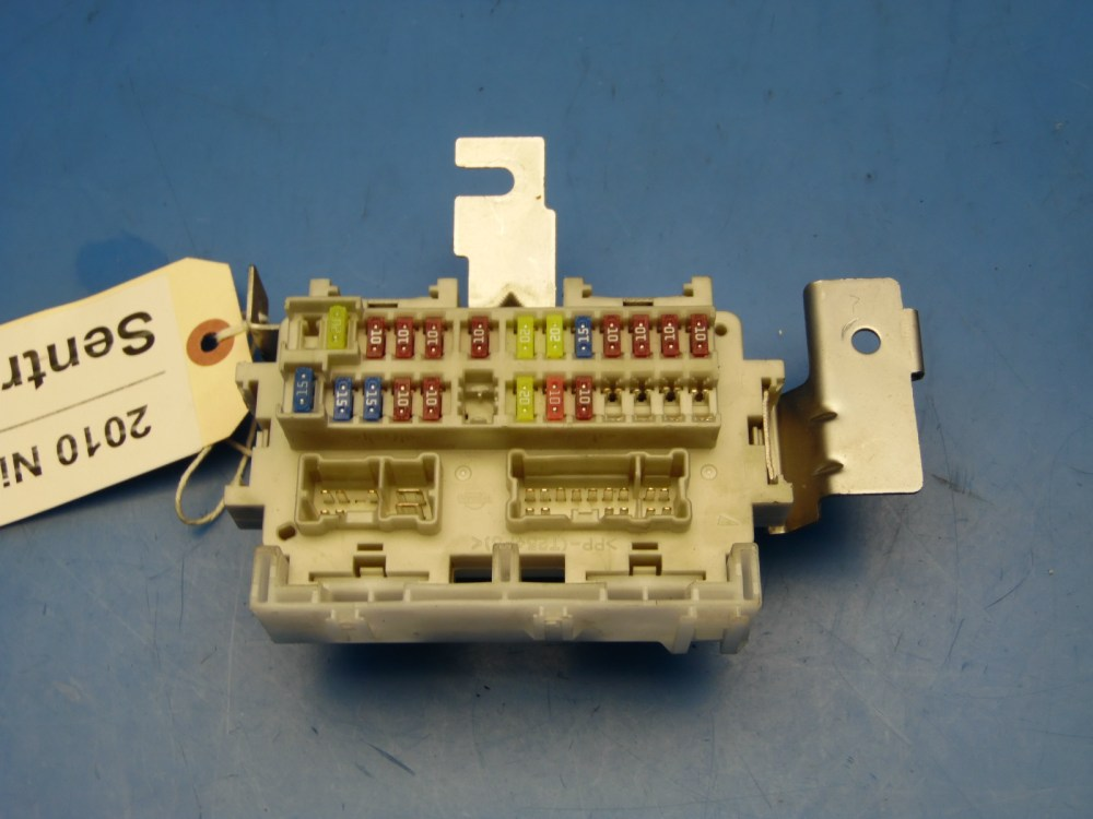 medium resolution of 2007 2012 nissan sentra oem in dash fuse box with fuses relays 2