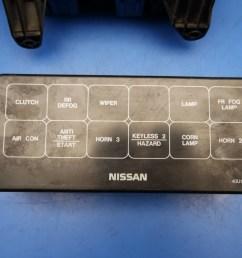95 96 nissan maxima oem under hood fuse box w fuses u0026 relays flaw95 [ 1600 x 1200 Pixel ]