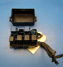 89 94 nissan 240sx oem under hood fuse box with fuses relays cover diagram [ 1600 x 1200 Pixel ]
