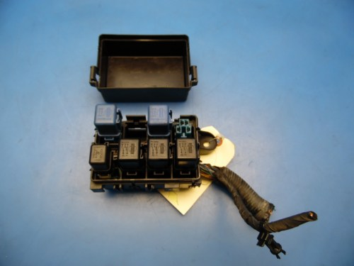 small resolution of 89 94 nissan 240sx oem under hood fuse box with fuses relays cover diagram