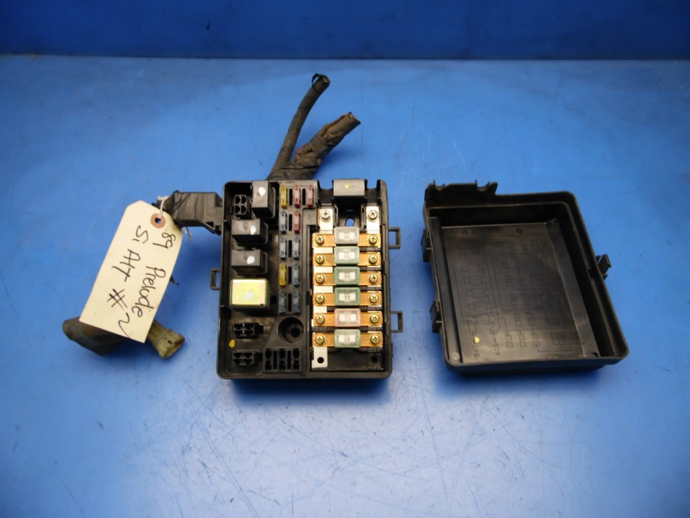 medium resolution of 88 89 honda prelude oem under hood fuse box fuses relays flaw 2