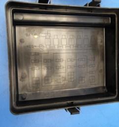 88 89 honda prelude oem under hood fuse box fuses relays flaw 2 [ 1600 x 1200 Pixel ]