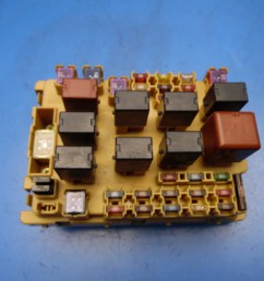 00 05 toyota celica oem front left side in dash fuse box with fuses [ 1600 x 1200 Pixel ]