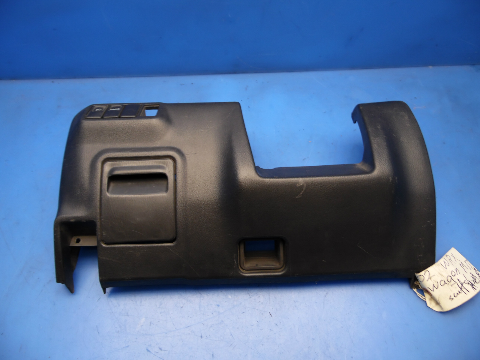 hight resolution of 02 05 wrx impreza oem under dash cover compartment fuse box diagram flaws 3
