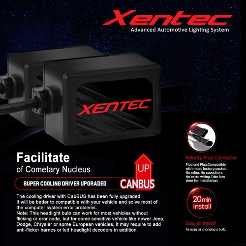 small resolution of xentec led headlight hi low kit 9007 hb5 for mitsubishi endeavor