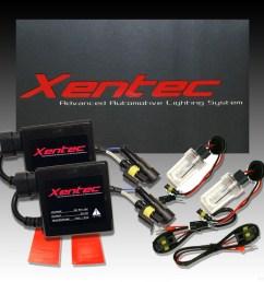 xentec hid kit gmc yukon envoy jimmy sierra terrain car headlight [ 1000 x 1000 Pixel ]