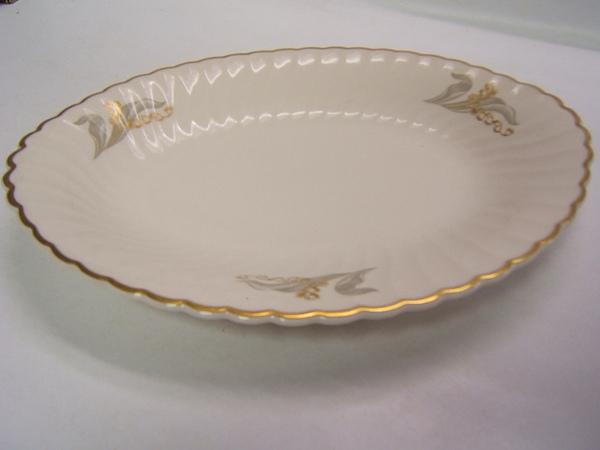 Syracuse China Glory Made In USA Small Oval Platter EBay