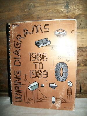 eclecticak : Genuine 198689 HarleyDavidson Wiring Diagrams Manual
