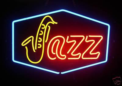 Unique_09  Jazz Saxophone Sax Home Music Decor Neon Glass