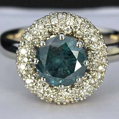 LEA LANE JEWELRY 14k Gold Ezequiel Amaro Designer Blue