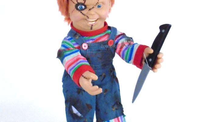 Bride Of Chucky Animated Talking Chucky Life Size 24 Doll