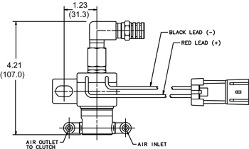 Volvo Fan Clutch Solenoid, Volvo, Free Engine Image For