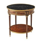 Fantastic French Louis Xvi Flame Mahogany Bronze Marble Top Side Lamp Table Ebay