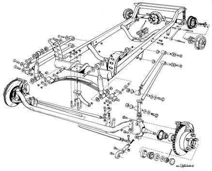 Hot Rod Plans T Bucket Build Guide Roadster Frames Tips