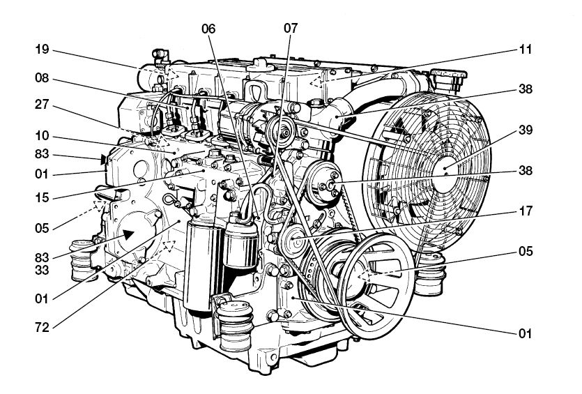 Deutz 1012 1013 Service Manual bf6m bf4m Workshop Repair