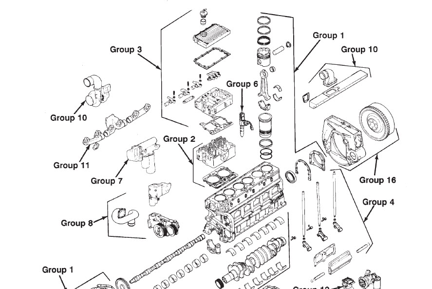 CUMMINS N14 1991 DIESEL ENGINE SHOP SERVICE MANUAL CELECT