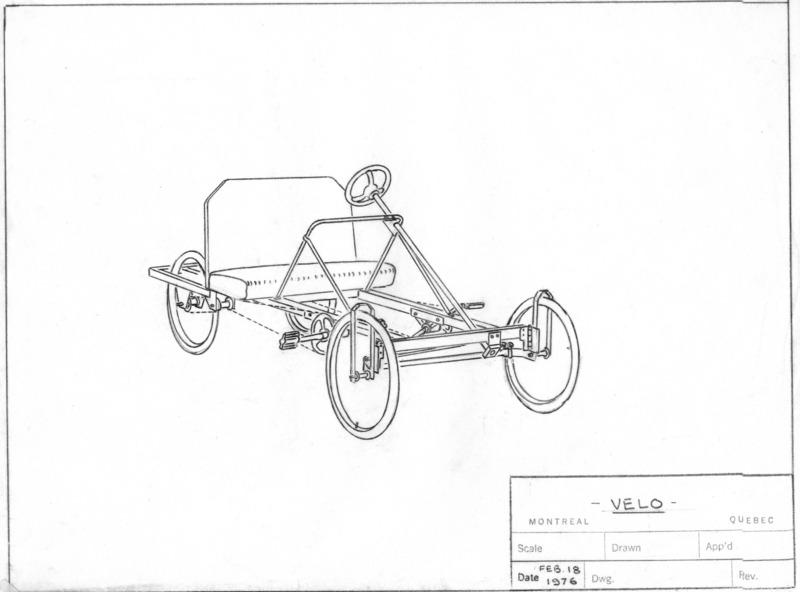 4 Wheel Bike Plans DIY Pedal Car Quad Cycle Rickshaw