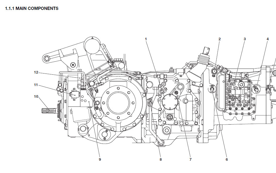 Hatz Diesel E673lhk Parts Manual