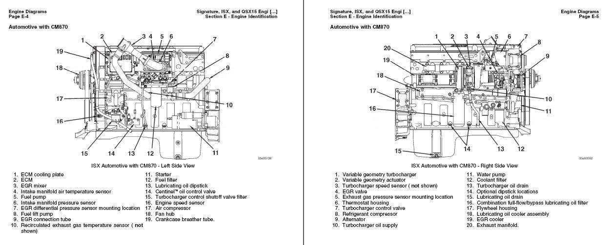 Cummins Signature ISX15 QSX15 Engine Service Repair Manual