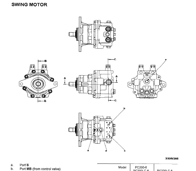 Komatsu Pc 200 Parts Manual