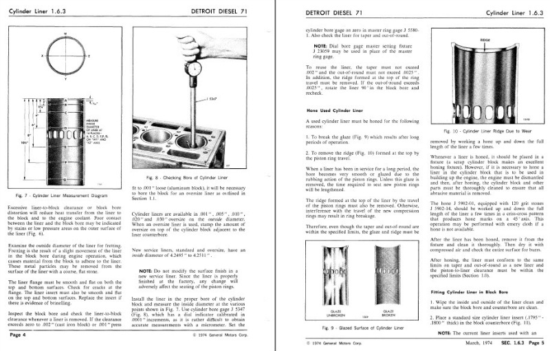 Detroit Diesel Series 71 inline Service Shop Manual 1973 3