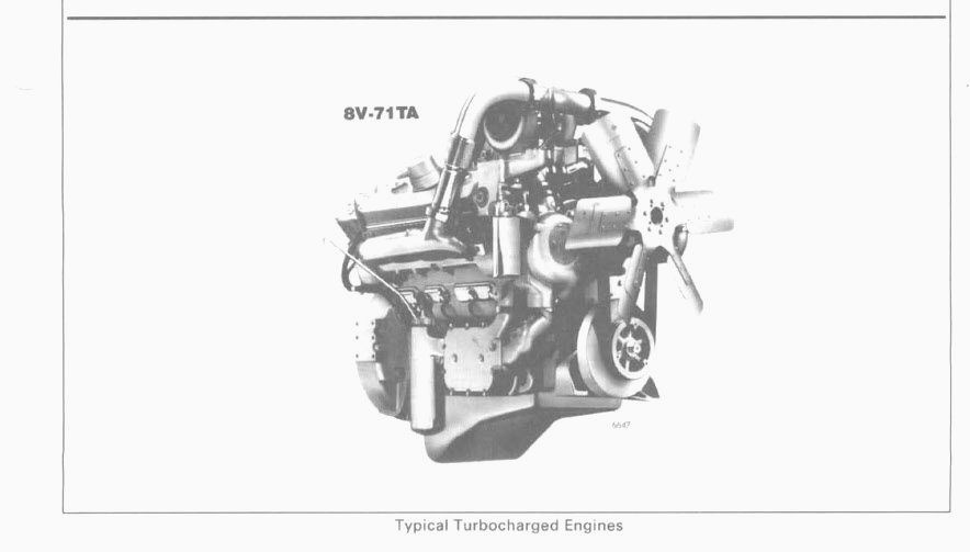 Detroit Diesel Series V71 Service Manual 8V-71TA 6V-71TA