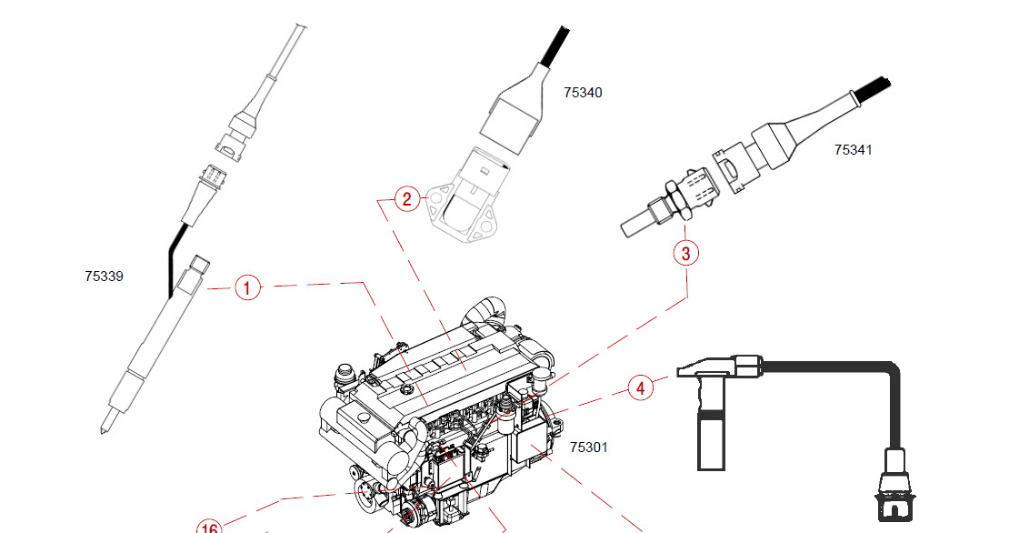 Mercury Mercruiser D 2.8L D 4.2L Diesel InLine D-Tronic