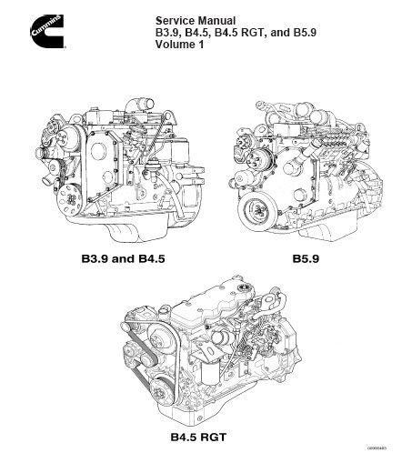 Cummins B Series B3.9 B4.5 B5.9 BT5.9 BTA5.9 Factory