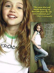 "Love Health Miley Cyrus - Barefoot Close- 11"" X 8"