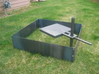 """bhigs101 : SQUARE FIREPIT LINER INSERT- 36""""Wide x 14"""" Deep"""