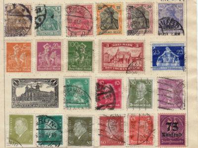 Guidenk Rare German Stamps
