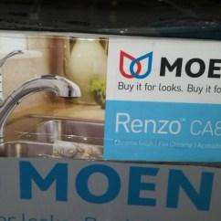 Moen Renzo Kitchen Faucet Lights Menards Ca87316c Single Handle Pullout ...