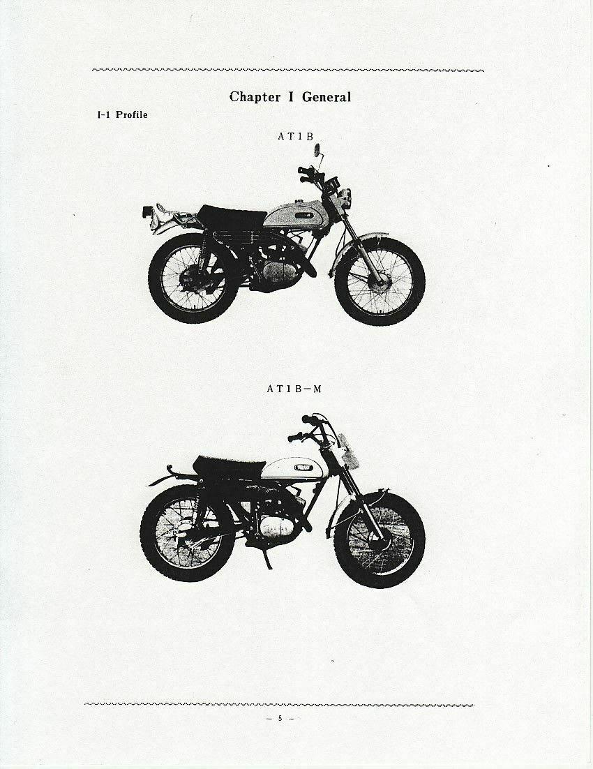 Yamaha AT-1 Service Manual VJMC AT1 ARHMA Vintage