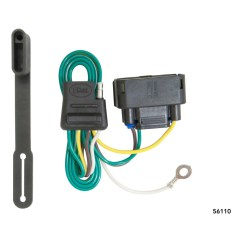 Rv Style Trailer Plug Wiring Diagram Hss Coil Split Curt Hitch Connector 56110 For Ford F 150