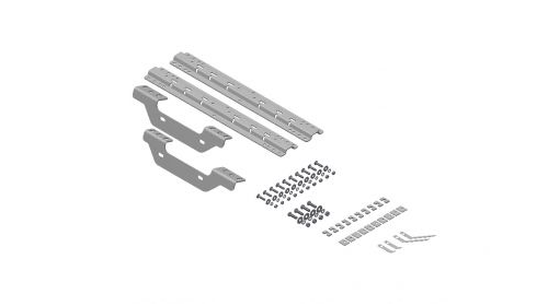 B&W Hitches RVK2501 5th Wheel Hitch Mounting Rail Kit for