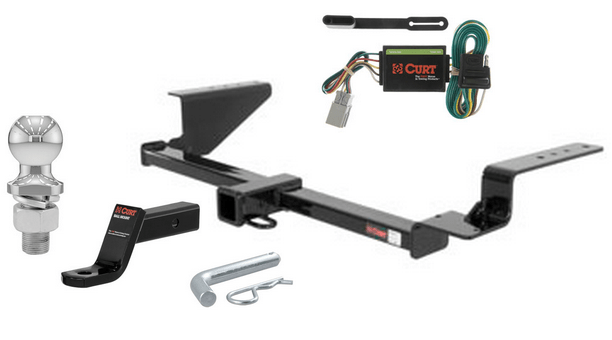 Curt Class 3 Trailer Hitch Tow Package For Honda CR-V