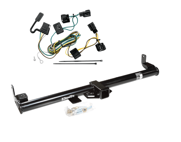 Draw-Tite Class 3 Trailer Receiver Hitch & Wiring for Jeep
