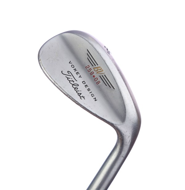 Titleist Vokey Chrome 200 Series 58 Sand Lob Wedge Steel