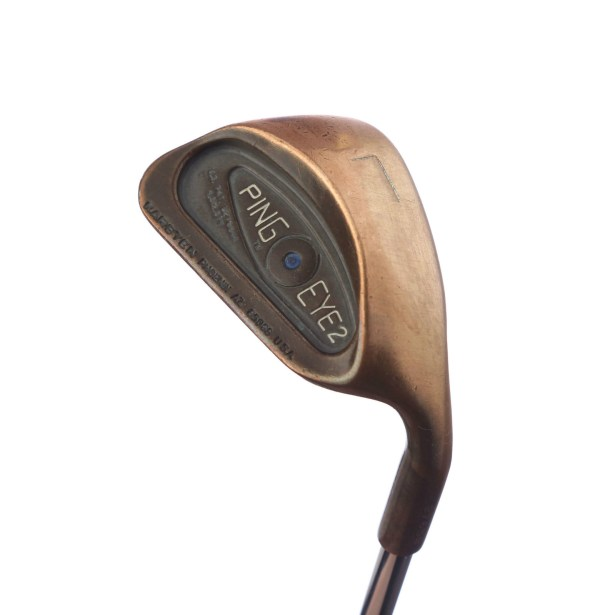 Ping Eye 2 Beryllium Copper Blue Dot Sand Lob Wedge Steel