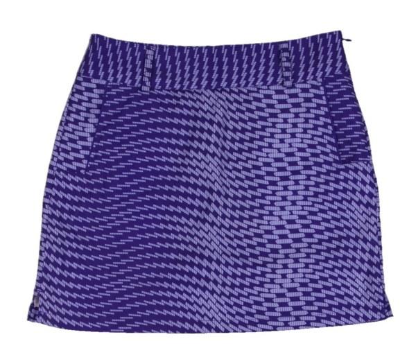 Women' Adidas Climacool Golf Skort Purple Sz 2