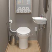 Saniflo Depot | Upflush Toilets : Half Bathroom: SaniCOMPACT