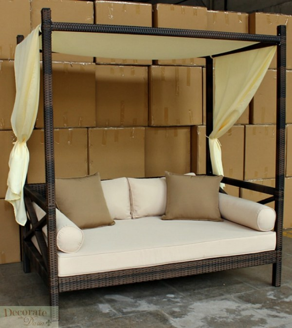 Bali Style Day Bed Outdoor Sun