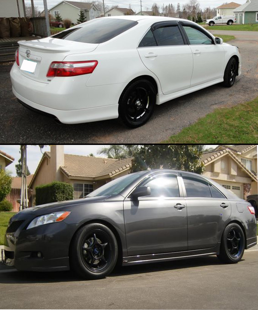 brand new toyota camry for sale review grand veloz 2017 2007-2011 se xv40 3d wavy style door window ...