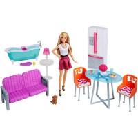 2014 Barbie Dreamhouse Furniture Giftset Bedroom Kitchen ...