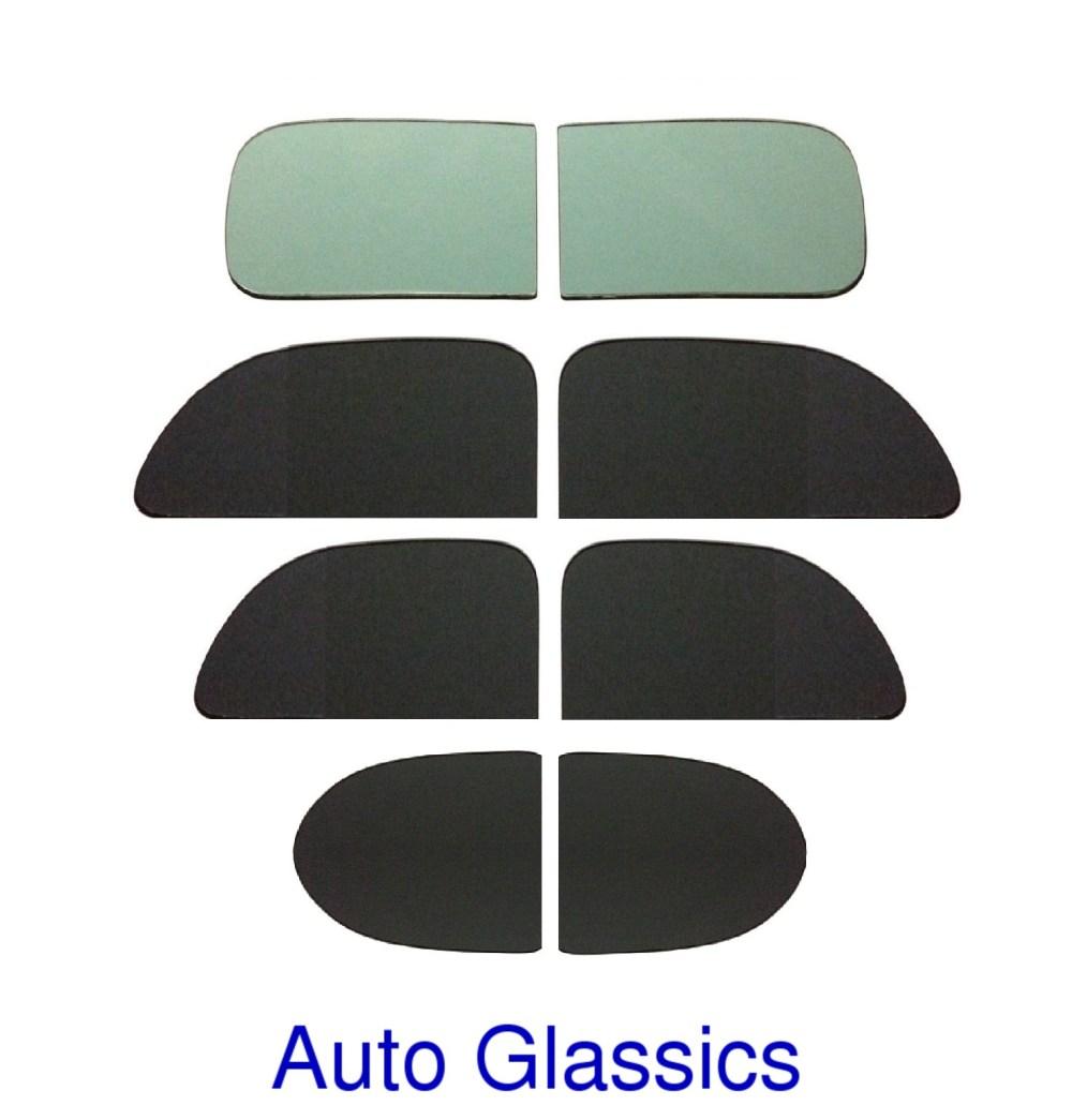 medium resolution of 1939 plymouth p7 2 door sedan classic auto glass kit new flat windows vintage